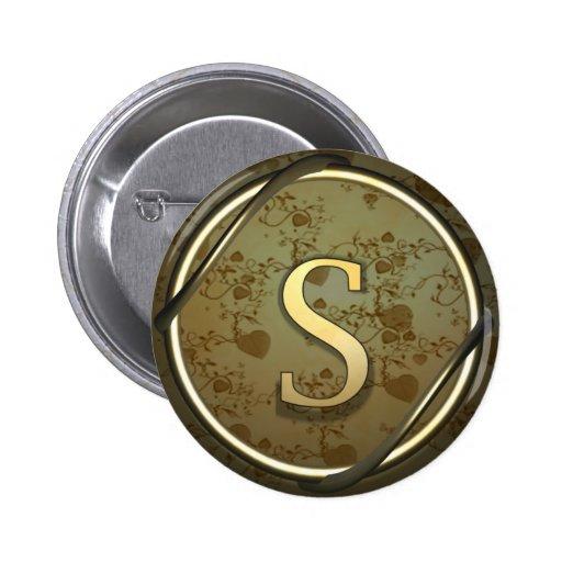 s pinback button