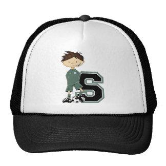 S est pour le football casquettes