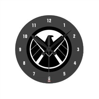 S.H.I.E.L.D Icon Wall Clocks