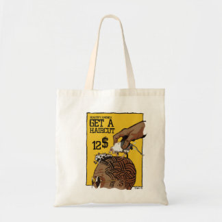 S (hip) Haircut Tote Bag