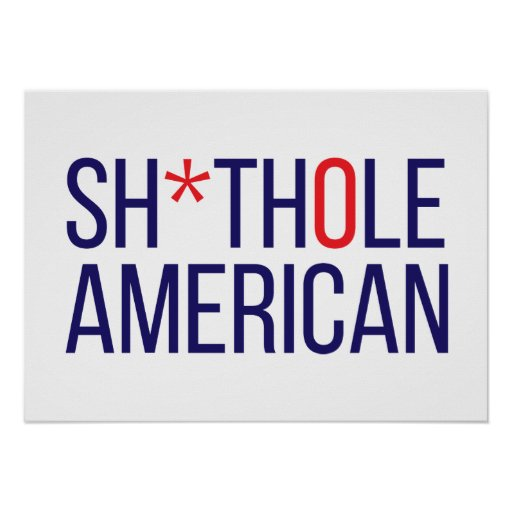 S-Hole American Poster