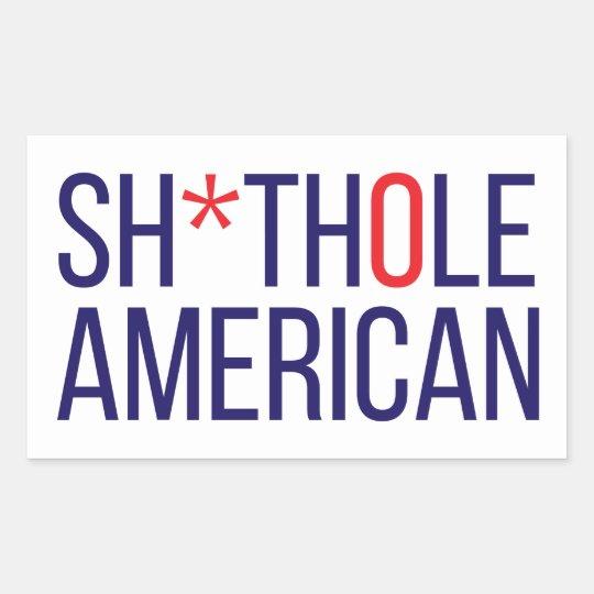 S-Hole American Sticker
