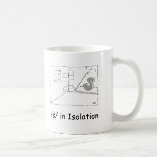S in Isolation Coffee Mug
