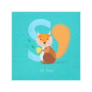 S is for... canvas print