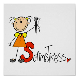 S is for Seamstress Poster