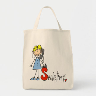 S is for Secretary Canvas Bags