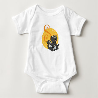 S is for Skunk Baby Bodysuit