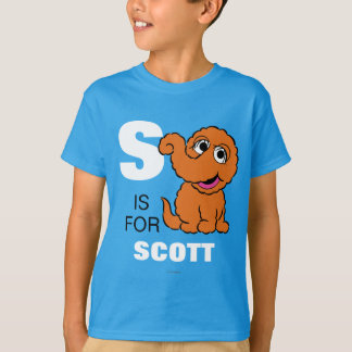 S is for Snuffleupagus | Add Your Name T-Shirt