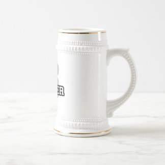 S is for Spencer Beer Stein