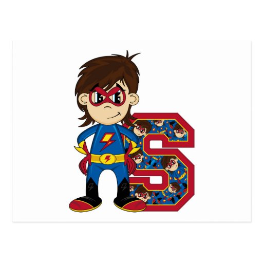 S is for Superhero Postcards