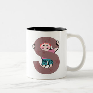 S is for...... Two-Tone coffee mug