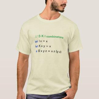 S K I combinators T-Shirt