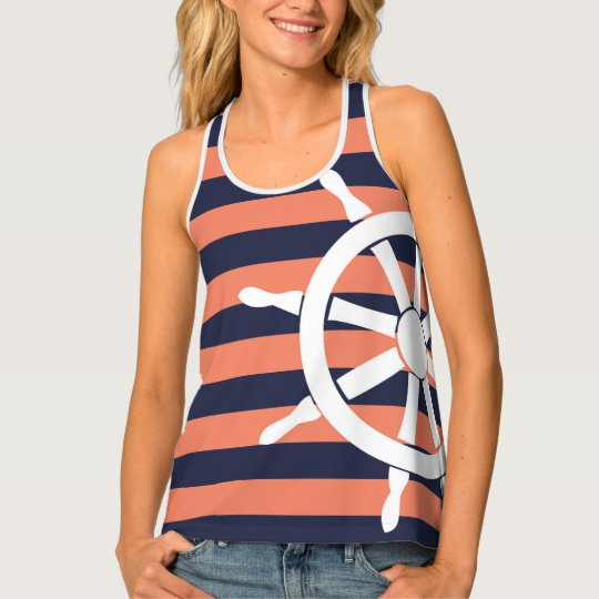 S.K. NautiGal Tank Top
