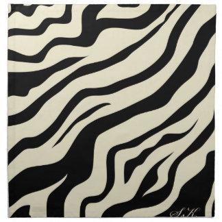 S.K. Zebra Fever Cloth Napkins