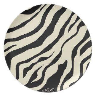 S.K.: Zebra Fever Plate