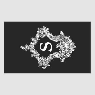 S Monogram Initial