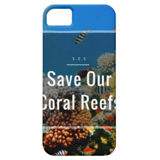 S.O.S ~ Save Our Coral Reefs iPhone 5 Cases