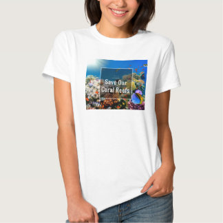 S.O.S ~Save Our Coral Reefs Tee Shirt