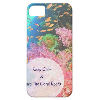 S.O.S ~ Save The Coral Reefs iPhone 5 Cover