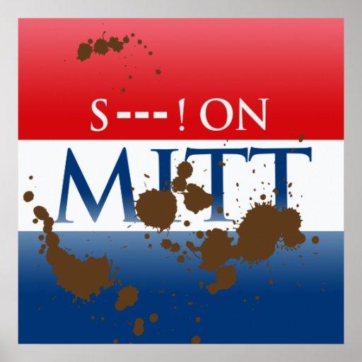 S--- ON MITT POSTER
