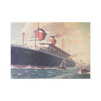 S.S. America Canvas Print