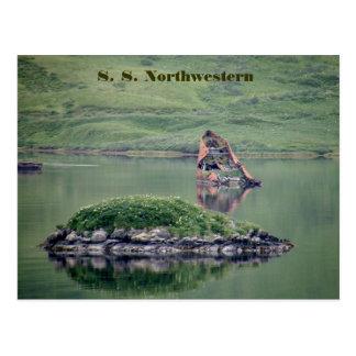 S S Northwestern Unalaska Island Post Card