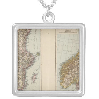 S Scandinavia, Norway, Sweden Silver Plated Necklace