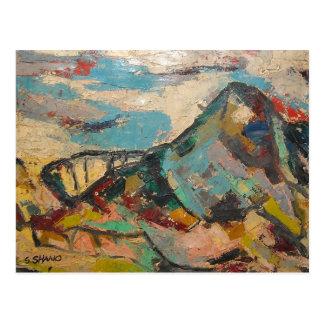 S Shano Color Mountain Postcard