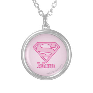 S-Shield Mom Personalized Necklace