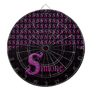 S - The Falck Alphabet Pink Dart Board