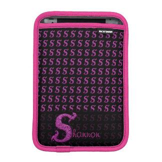 S - The Falck Alphabet Pink iPad Mini Sleeves