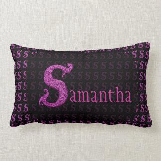 S - The Falck Alphabet Pink Pillows