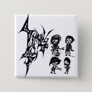 "S@TS ""The Band"" 2 Inch Square Button"