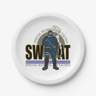 S.W.A.T. Attitude Paper Plate