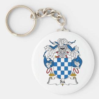 Sa Family Crest Keychain