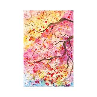 Sa Ku Ra - Spring has come Canvas Print