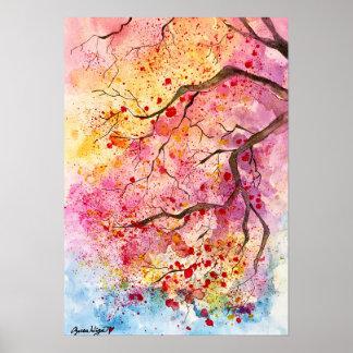 Sa Ku Ra - Spring has come Poster