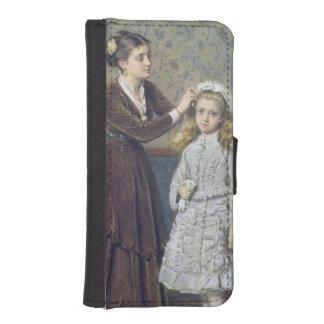 Sa première communion coques avec portefeuille pour iPhone 5