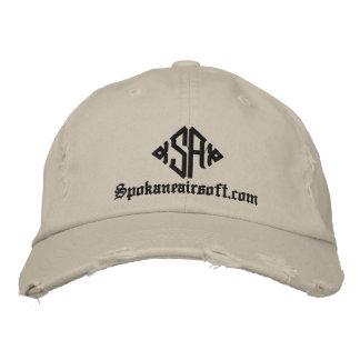 SA, Spokaneairsoft.com Embroidered Hats