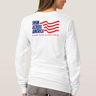 SAA lt blue hoodie - Ladies - Customized