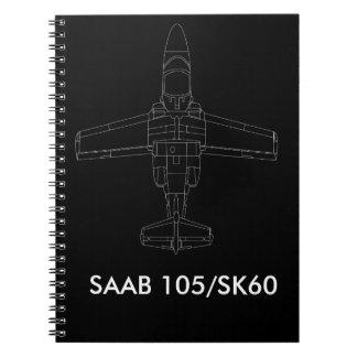 SAAB 105/SK 60 Aircraft Notebook