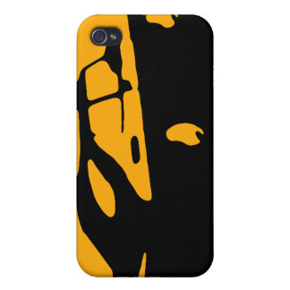 Saab 900 SPG/Aero - Yellow on dark bkgd speck case iPhone 4/4S Cover