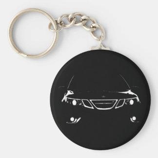 Saab 9-3 Aero Keychain