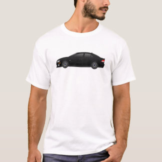 saab 9-3 SS aero in black T-Shirt