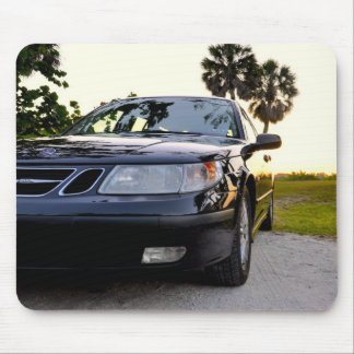 Saab 9-5 Arc SportWagon 2005 in Florida Sunset Mouse Pad