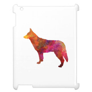 Saarloos Wolfdog in watercolor Cover For The iPad 2 3 4