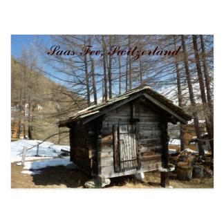 Saas Fee Postcard