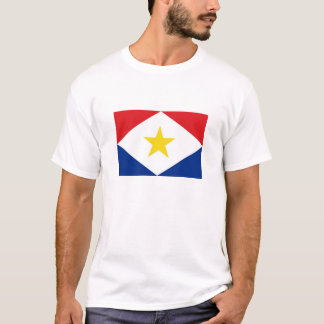saba island flag Netherlands country region T-Shirt