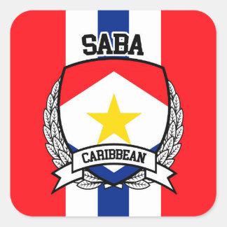Saba Square Sticker