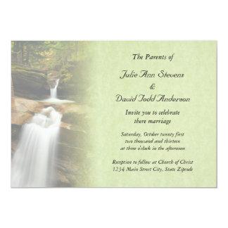 Sabbaday Falls Wedding Invitation